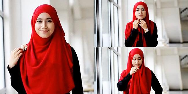 tips berhijab, hijab syar'i, hijab menutup dada