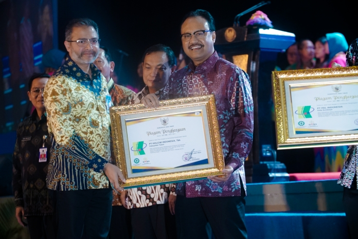 holcim indonesia, info terkini, penghargaan holcim