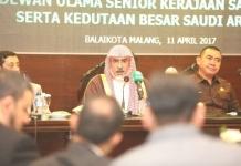 pusat islam internasional, malang, arab saudi