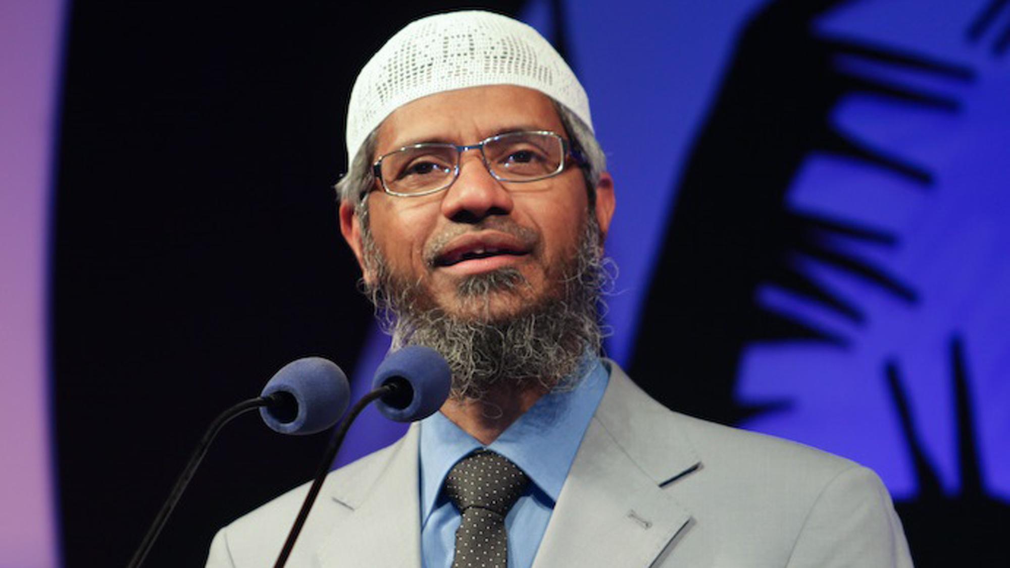 ceramah zakir naik, simbol perdamaian dunia, islam