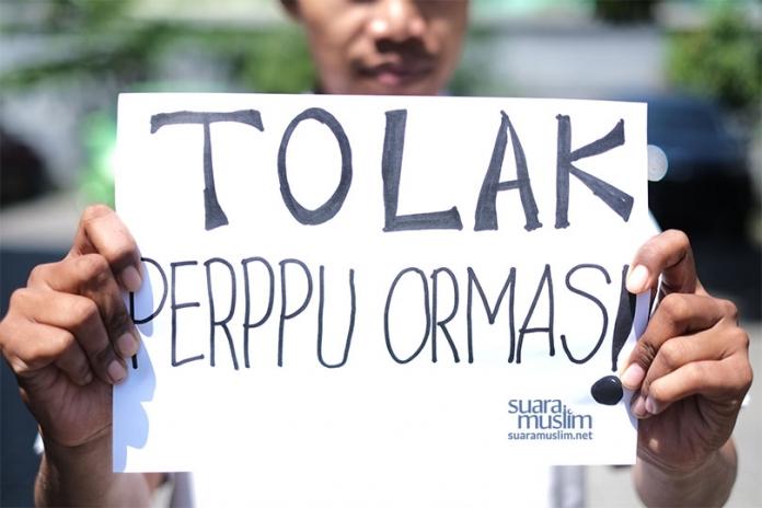 Perppu Ormas Dinilai Anti Islam