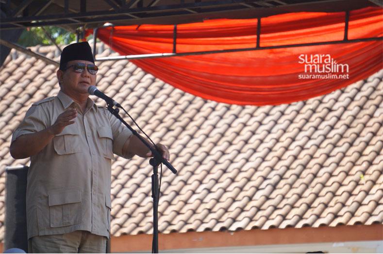 Prabowo Subianto Benar - Salah di Indonesia Ditentukan oleh Uang