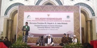 Jokowi Beri Beasiswa Santri Ponpes Al-Amien Berprestasi