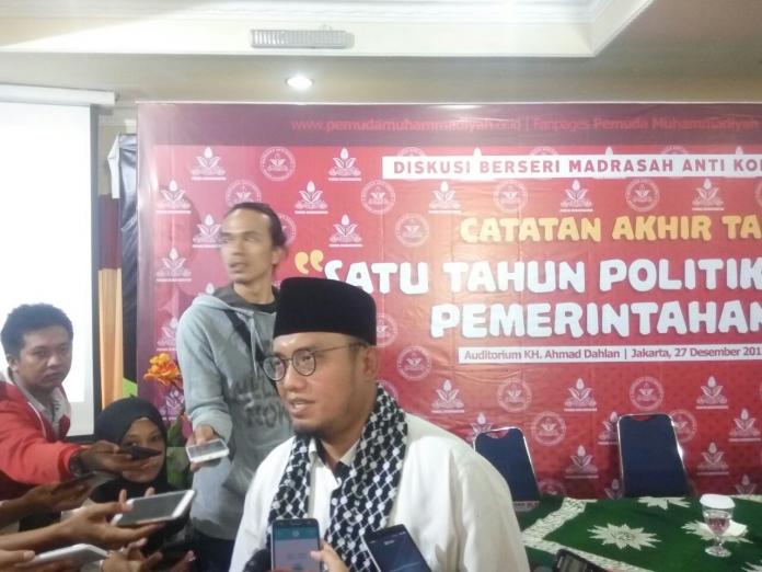 Dahnil Anzar Rezim Jokowi Mainkan Politik Kuda Troya Untuk Melemahkan KPK