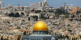 Ratusan Warga Palestina Tolak Keputusan Trump - yerusalem - jerussalem