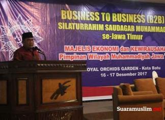 Serukan Jihad Ekonomi, Muhammadiyah Gelar Pertemuan Saudagar