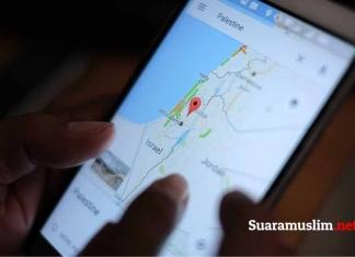 Tak Ada Wilayah Palestina di Google Maps, Mengapa