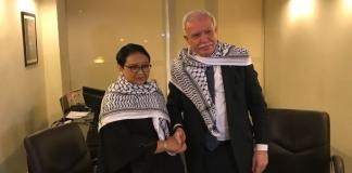 Menlu Retno: Indonesia Komitmen Dukung Perjuangan Palestina