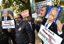 Demontrasi Di India Tuntut Netanyahu Angkat Kaki