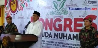 Menteri Agama Minta Ulama Muda Muhammadiyah Bicarakan Politisasi Agama