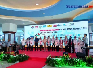 Kapal Kemanusiaan Untuk Palestina Berangkat Hari Ini dari Surabaya