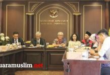 Datangi MK Koalisi Masyarakat Peduli MK Desak Ketua MK Arief Hidayat Mundur