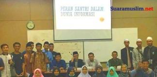 Forum Jurnalis Muslim Ajak Mahasiswa Lombok Berdakwah Melalui Media