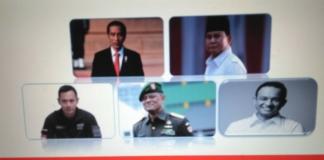 Inilah Tiga Orang Militer Penantang Jokowi Di Pilpres 2019 Versi LSI