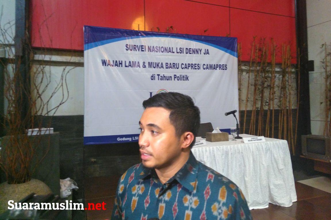 LSI Nilai Jokowi Belum Aman Untuk Pilpres 2019