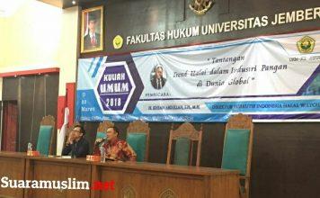 Implementasi UU Jaminan Produk Halal Dinilai Berjalan Lambat
