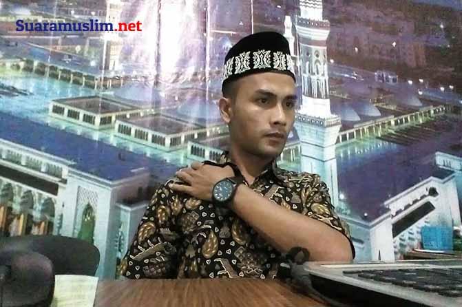 Ketua KOPPA Abdul Jabbar - tolak wakaf aceh