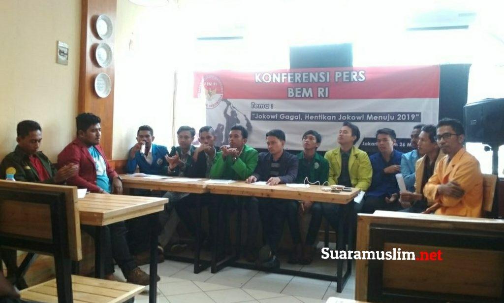 Nilai Jokowi Gagal, BEM Se Jabodetabek Akan Lakukan Aksi Demonstrasi