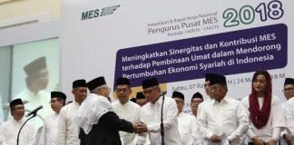 Wimbah Santoso Jabat Ketua Masyarakat Ekonomi Syariah