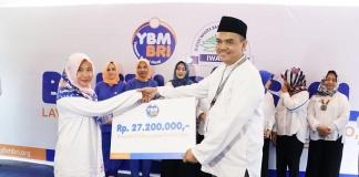 Yayasan Baitul Maal BRI dan IWABRI Salurkan Bantuan Ke Ponpes di Lombok Utara NTB.