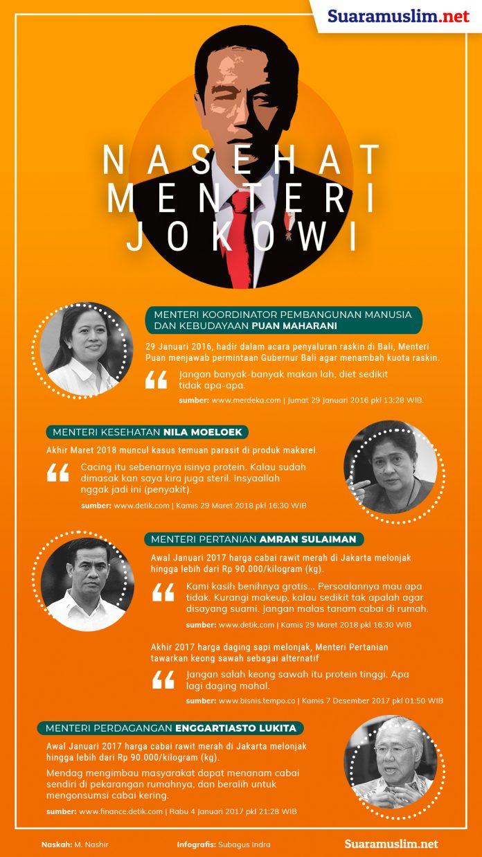 Nasehat Menteri Jokowi - RV 1