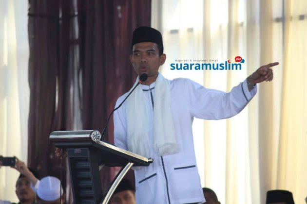 UAS Soal Video Salib: Pengajian Tertutup Untuk Internal Umat Islam