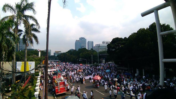 demonstrasi tuntut penangkapan Sukmawati