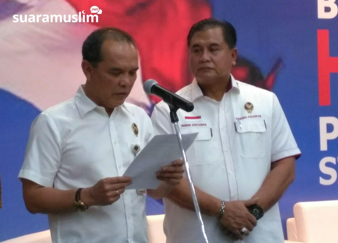 Dukung PTUN Tolak HTI, Wiranto, Bukan Pertarungan Pemerintah Melawan Islam
