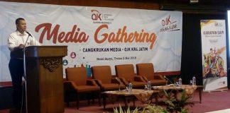 OJK Jatim Sinergi OJK dan Media Lindungi Konsumen Jasa Keuangan