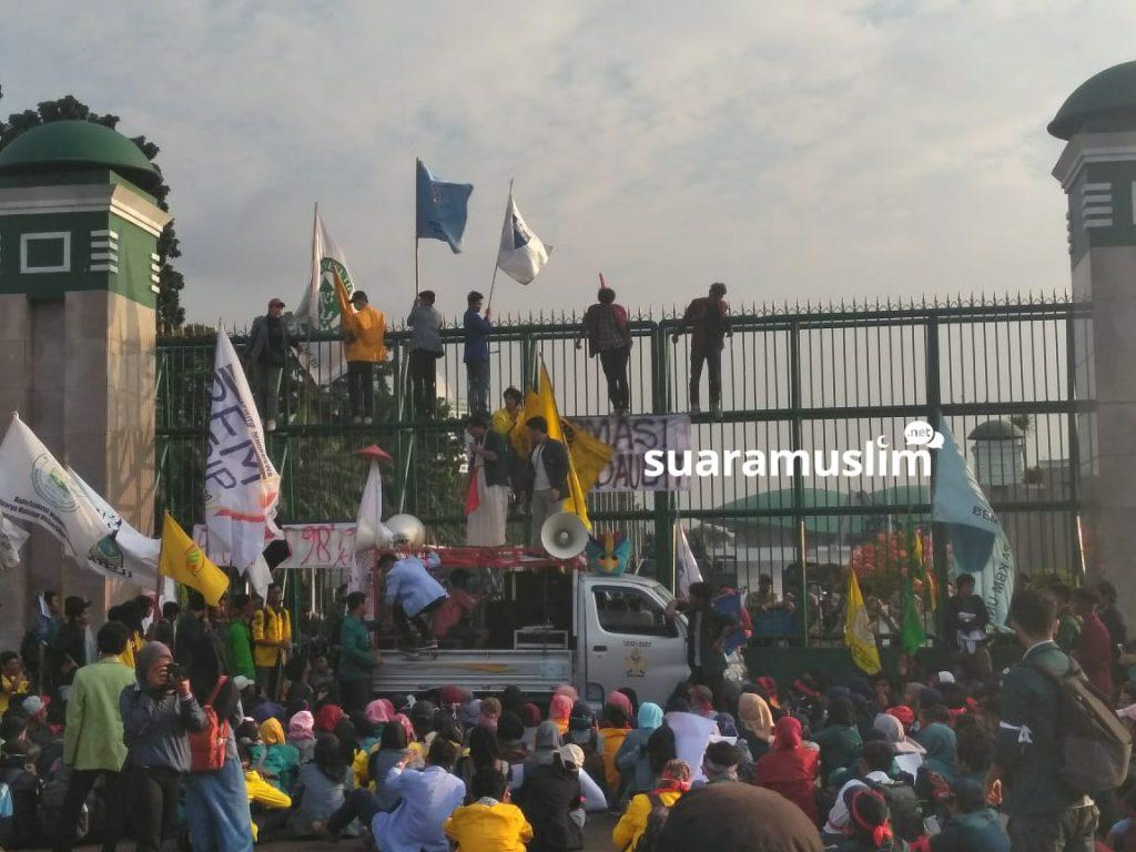 Pemilu 2019 Dinilai Bermasalah, BEM UI & SI Gelar Aksi Demonstrasi