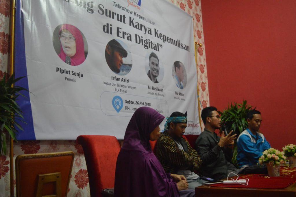 Forum Lingkar Pena Soroti Tantangan Dunia Kepenulisan di Era Digital