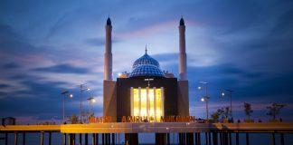 masjid terapung makasar