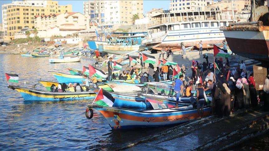 Gaza Siapkan Kapal Lawan Blokade Zionis Israel