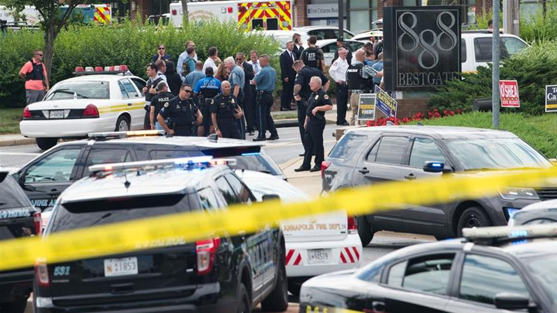 Kantor Surat Kabar di Maryland Diserang, 5 Orang Tewas