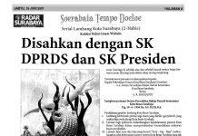 "Soerabaia Tempo Doeloe ""Lambang Kota Surabaya"""