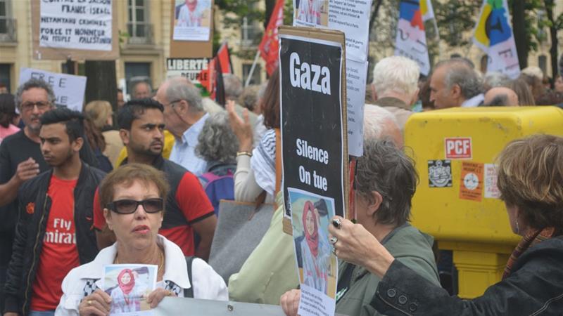 Warga Prancis Unjuk Rasa Sambut Kedatangan PM Israel