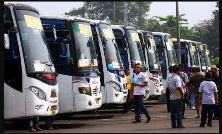 Sembilan Terminal di Jakarta Berangkatkan 89.404 Pemudik