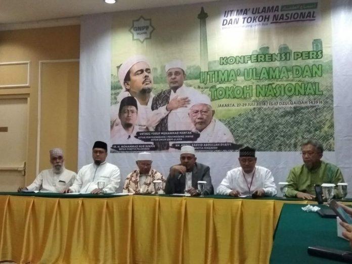 Gelar Ijtima Ulama, GNPF Ulama Ajak Para Ulama Musyawarah Mencari Solusi Persoalan NKRI