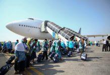 118 Kloter Mendarat Di Arab Saudi, 5 Jamaah Wafat