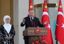 Erdogan dilantik sebagai Presiden Eksekutif Pertama Turki