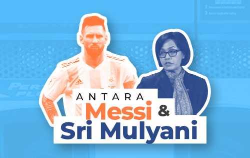 Antara Messi dan Sri Mulyani - Foto