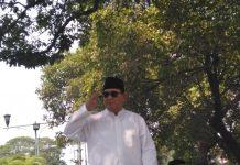 Dimarahi Prabowo, Pengawal Yang Mendorong Emak-emak Minta Maaf