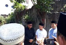 Petinggi PKS dan PDIP Sambangi Rumah Almarhum Yusuf Supendi
