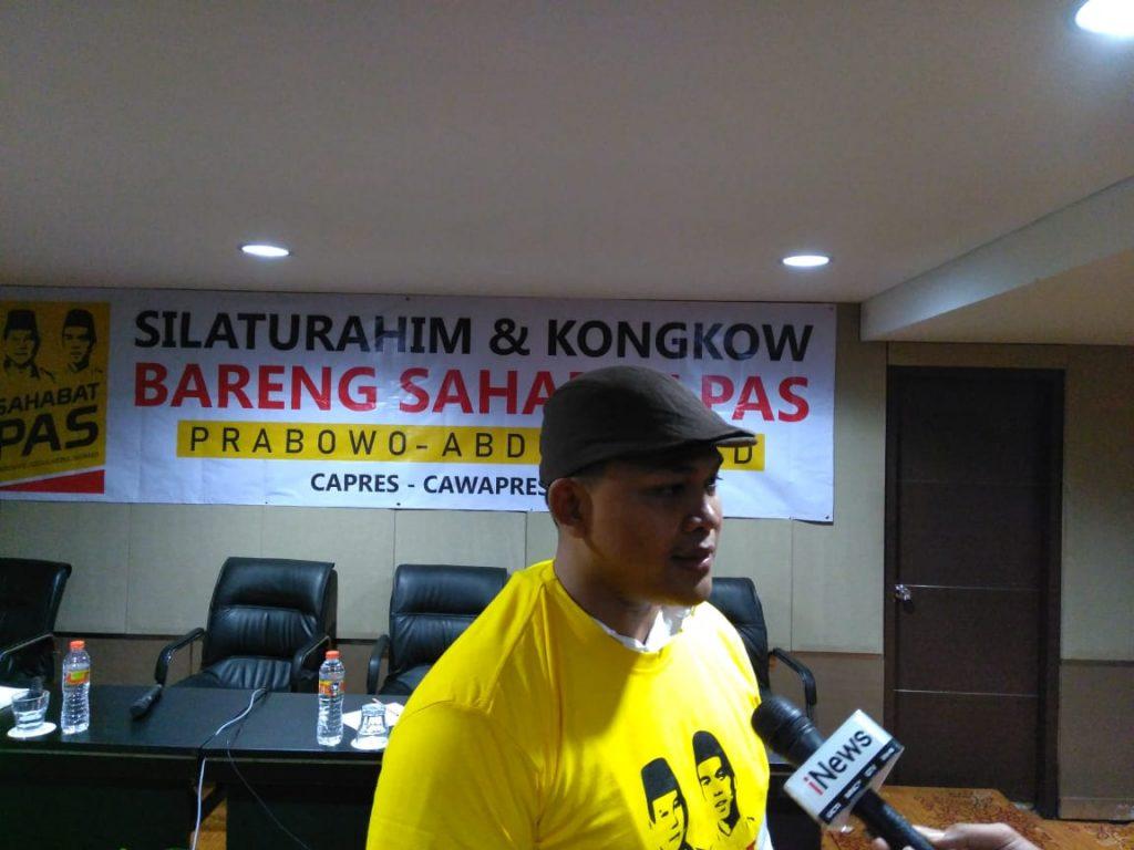 Relawan PAS: Prabowo Rugi Kalau Tidak Pilih Abdul Somad Sebagai Cawapres
