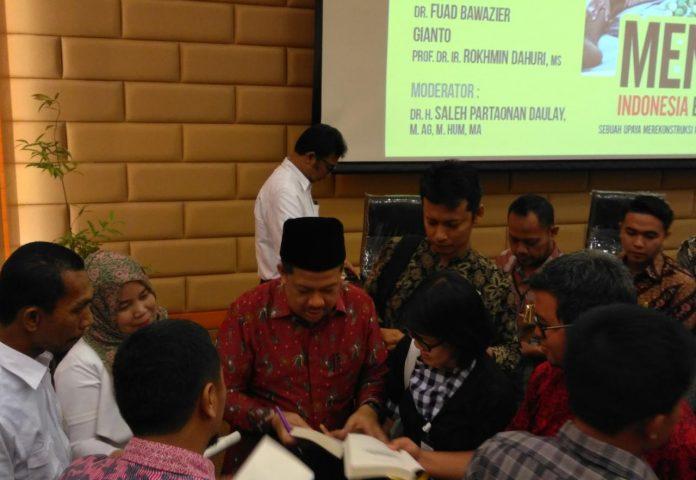 Fahri Hamzah Luncurkan Buku: Mengapa Indonesia Belum Sejahtera?