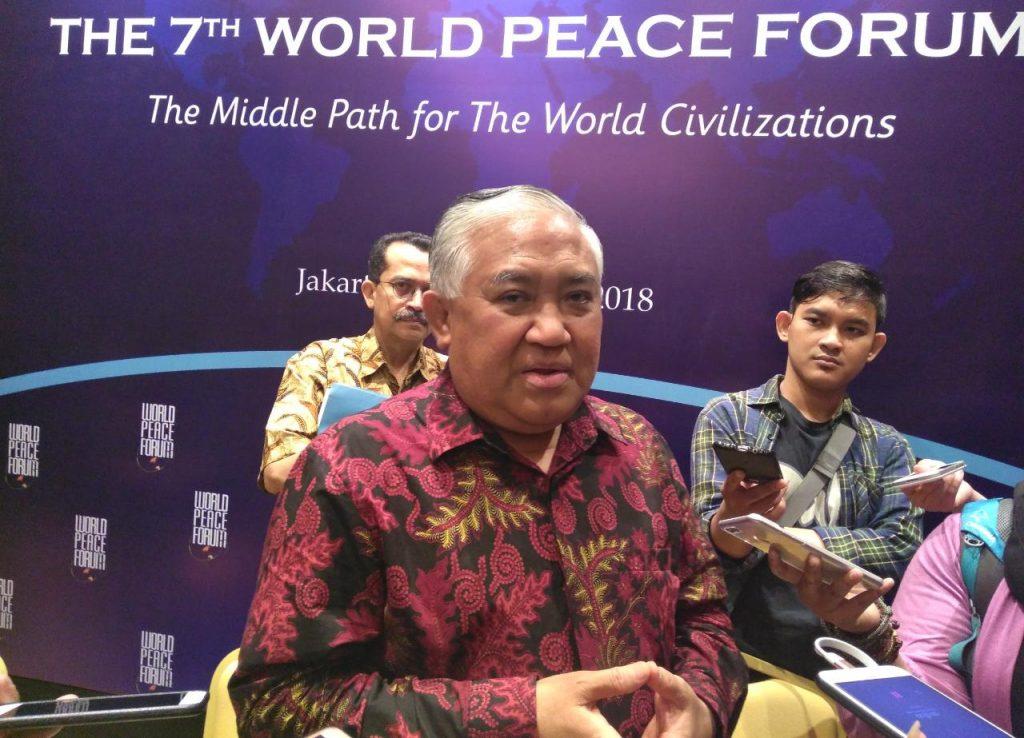 Din Syamsuddin Apresiasi Seruan Ketum PBNU Untuk Menghormati Habib Rizieq
