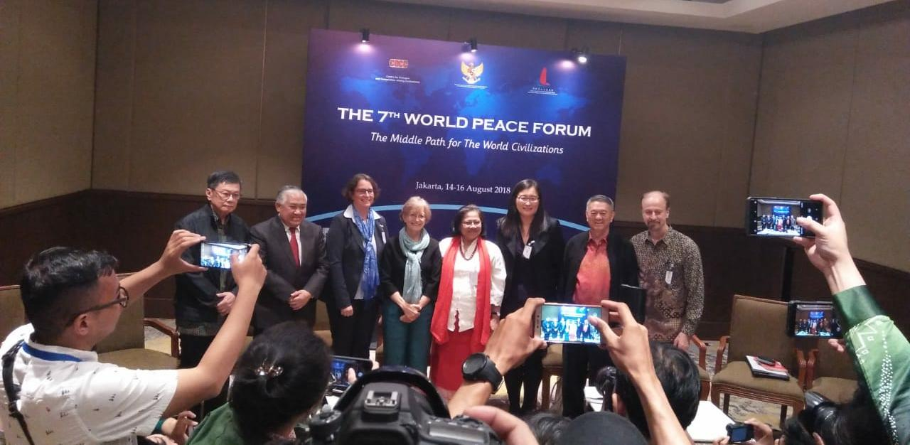 Berikut Enam Poin Jakarta Message Dari Forum Perdamaian Dunia
