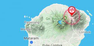 Dalam Sehari, 5 Kali Lombok Diguncang Gempa