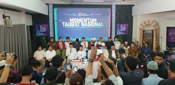 Momentum Taubat Nasional: Khotib Idul Adha, Serukanlah Do'a Untuk Lombok