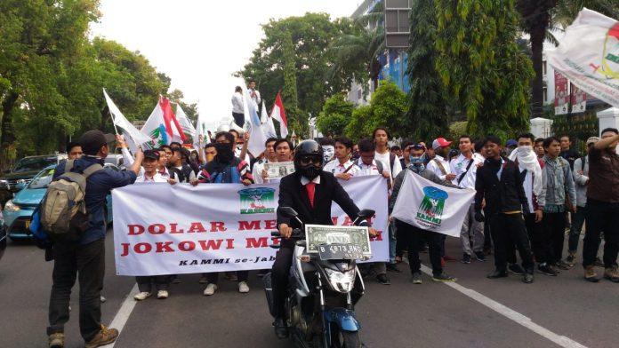 Demo Jokowi, Mahasiswa KAMMI se Jabodetabek bawa
